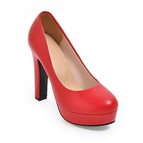 EU APL10720 BalaMasa Red Rouge Femme 36 5 Plateforme w04Uwqv