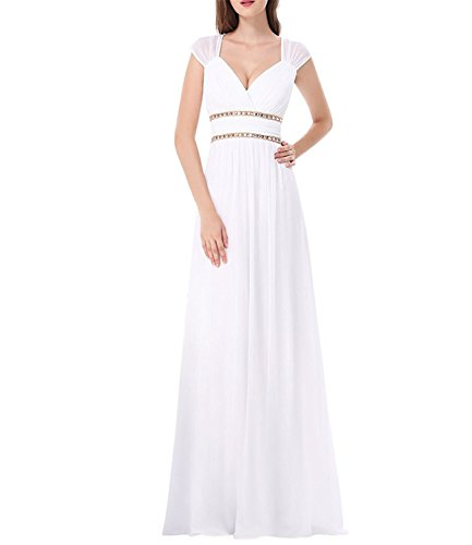Womens Grecian Style Dress - 7
