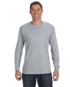 Jerzees Youth 5.6 oz., 50/50 Heavyweight Blend Long-Sleeve T-Shirt (29BL)- OXFORD,M (Blend Heavyweight Jerzees Youth)