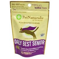 Pet Naturals of Vermont Daily Best Senior Cat SoftChews, Senior 0.17 lbs ( 2-Pack)