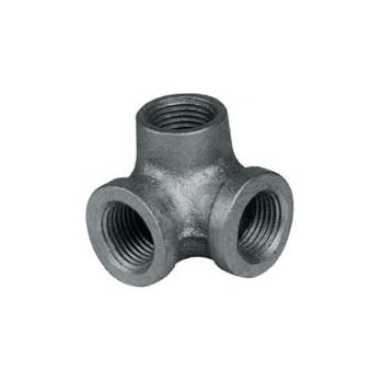 3 4 tee side outlet galv pipe fittings for Outlet b b