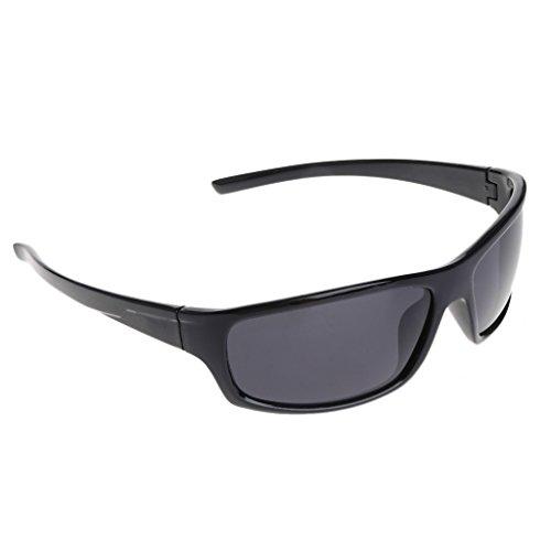 Polarizadas Hombre Grey amp;black Sport Gafas Sol de Marrón Ciclismo Lamdoo marrón Protección de Exterior Pesca UV400 Gafas marrón 7IRxaqS