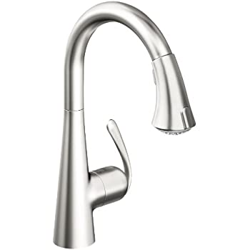 Grohe Ladylux3 Café Single-Handle Pull-Down Kitchen Faucet, Super