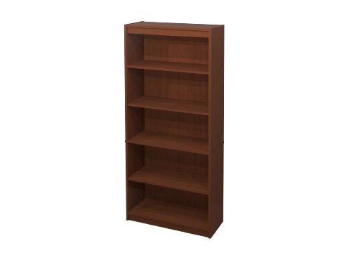 Bestar Standard Bookcase, Cognac Cherry