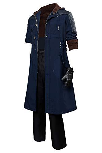 Adult Nero Cosplay Costume Nero Casual Jacket Coat Uniform Suit (Male: Medium, Style-2)]()