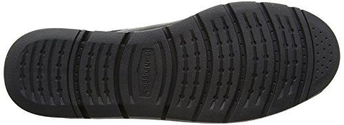 Hush Puppies H104463, Zapatos con Cordones Hombre Negro (Black)