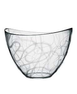 Amazon.com: Orrefors Pond Large Bowl, Clear: Decorative