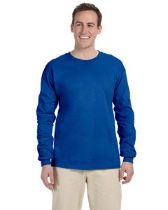 Fruit of the Loom 5 oz.Heavy Cotton HD Long-Sleeve T-Shirt (4930) -Royal -M