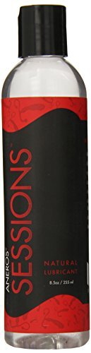 Aneros Sessions Natural Lubricant Water Base, 8.5 Fluid Ounce by Aneros