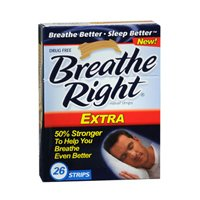 Breathe Right Nasal Strips, Extra, 26-Count Box (2 Pack)