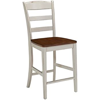 Amazon Com Home Styles 5002 89 White And Distressed Oak