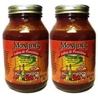 MONJUNIS Salsa Di Pomidoro, 32.5 OZ (Pack of 2)