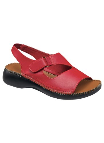 Easy-Wearing Casual Slingback Red tFzI7