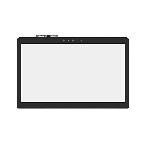 (LCDOLED Replacement 15.6 inches Touch Screen Digitizer Front Glass Panel with Touch Controller Board for ASUS Q524 Q524U Q524UQ Q524UQ-BHI7T14 Q524UQ-BHI7T15 Q524UQ-BI7T20 Q524UQ-BBI7T14 (No Bezel))