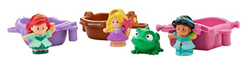 Fisher-Price Disney Princess Princess Floating Boats by Little People (Disney Princess Tub compare prices)