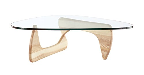Kardiel 1956 Arch Mid-century Modern Coffee Table, Natural Ashwood