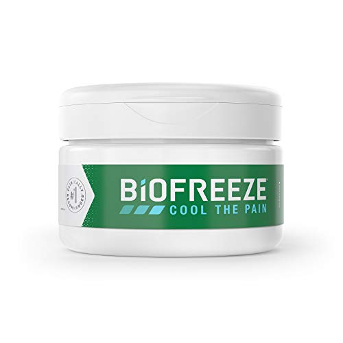(Biofreeze Pain Relief Cream Jar, 3 oz.)