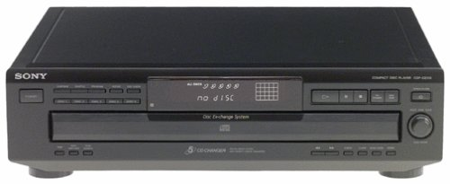 B00000JDJP Sony CDP-CE315 5-CD Changer (Discontinued by Manufacturer) 314ABSSWYZL