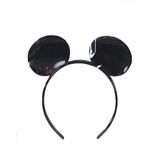 Officially Licensed Disney Deluxe Plastic Mickey Mouse Ears.