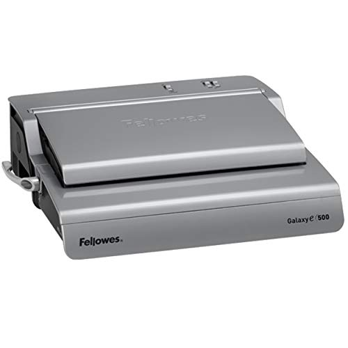 Fellowes 5218301 Galaxy 500 Electric Comb Binding System, 500 Sheets, 19 5/8x17 3/4x6 1/2, Gray (Renewed) by Fellowes (Image #3)