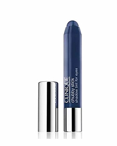 Clinique Chubby Stick Shadow Tint for Eyes, No. 12 Massive Midnight, 0.1 Ounce