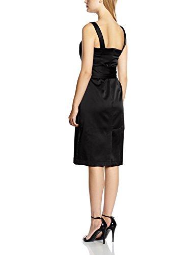 HotSquash Silk Kleid Cocktail Schwarz Damen Black SHwrISq