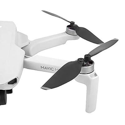 Penivo Mavic Mini Blades,4 Pairs Set Quick-Release Replacement Propellers Compatible with DJI Mavic Mini Drone Colorful Props Accessories (Black Sliver): Camera & Photo