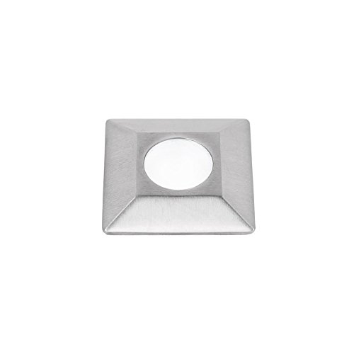 WAC Lighting 1051-30SS WAC 1'' Inground LED 12V Square Indicator Light in Stainless Steel 1'' Aperture