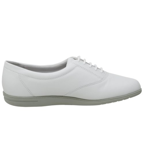 Leather Lace Easy up Women's Oxford Spirit White Motion zzAF0q