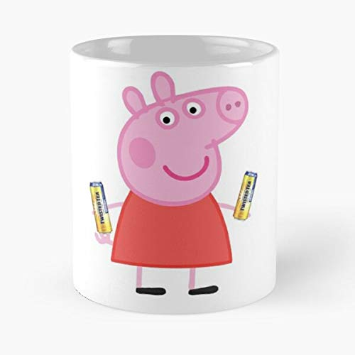 Collegehumor Girls Halloween (Twisted Peppa Classic Mug - The Funny Coffee Mugs For Halloween, Holiday, Christmas Party Decoration 11 Ounce)