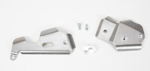 Works Connection Frame Guards for Kawasaki KX80/85/100 Suzuki RM100 (Frame Works Guards Aluminum Connection)