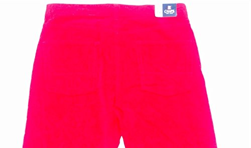 (Chaps Red Corduroy Pants Straight Leg Fit Mens 34 x 30 Light)