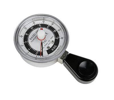 Baseline HD Hydraulic Pinch Gauge, 50 lb. Capacity, Black (12-0222)