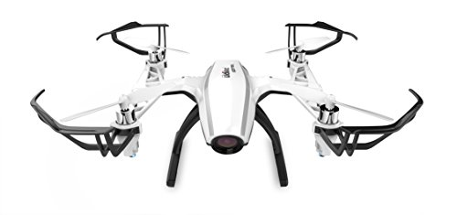 """UDI U28-1 FPV Quadcopter Drone with HD Camera and 4"""" 5.8ghz LCD Display Screen - BONUS Battery Doubles Flight Time"""