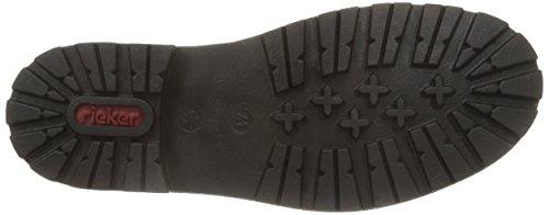 Rieker 37712 Herren Kurzschaft Stiefel Schwarz (schwarz/schwarz / 00)