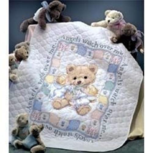 Stamped Embroidery Baby Quilt Kits Amazon Com