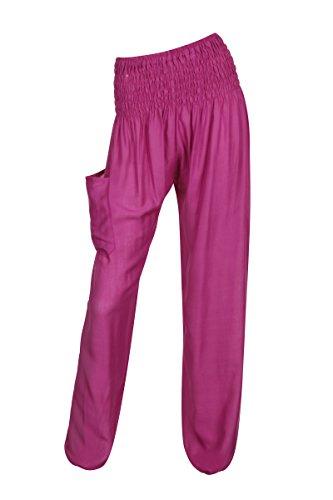 Rose Thaiuk Taille Unique Pantalon Femme xIq7Ir