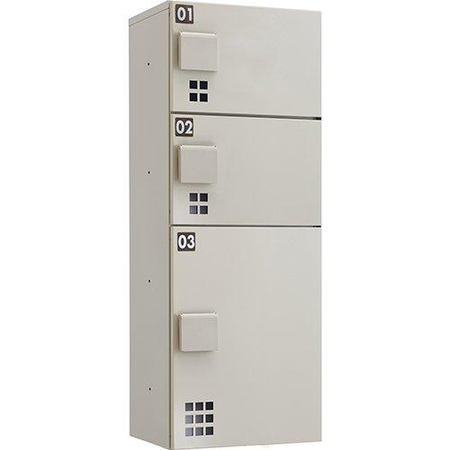 ハイツアパート向け宅配ボックス TBX-E2 SS W400 D300 H1080mm B079GNY1T2