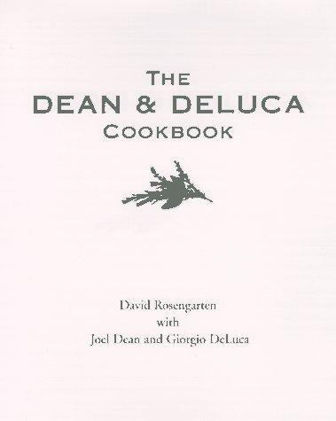 dean and deluca cookbook - 2
