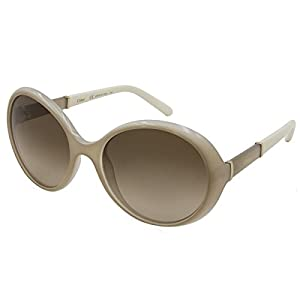 Chloe Womens Daisy Oversized Fashion Round Sunglasses