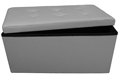 Panca Contenitore Tessuto : Russo tessuti pouf puff panca swarovski contenitore sgabello