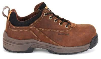 (Carolina Lytning Composite Toe Oxford Work Shoe, Women's Size 7 W)
