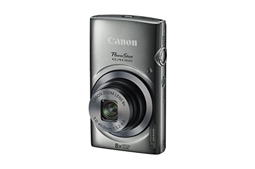 Canon PowerShot ELPH 160 (Silver) (Best Canon Elph Camera Reviews)