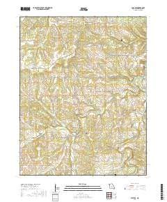 Bucyrus, Missouri topo map by East View Geospatial, 1:24:000, 7.5 x 7.5 Minutes, US Topo, 22.8