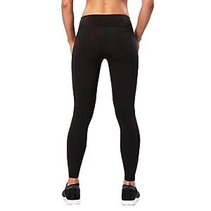 2XU Women's Active Compression Tights, Black/Silver, Medium