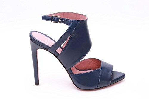 Wo milano sandali tacco 12 blu