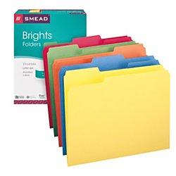 file folders colored - 2