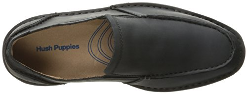 Hush Puppies Hombres Asil Roll Flex Slip-on Loafer Cuero Negro
