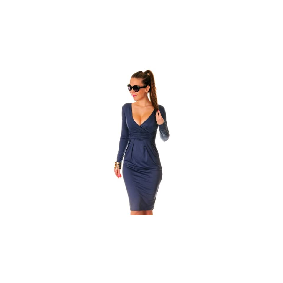 Glamour Empire Womens Long Sleeve Stretchy Jersey  285
