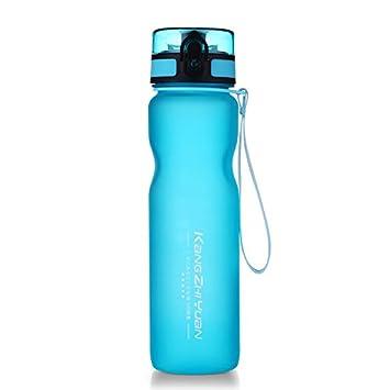 Uno es todo nuevo material Tritan plástico botella de agua libre de BPA deporte agua vaso